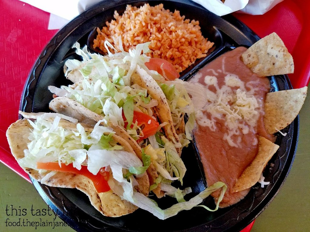 Folded Taco Dinner - The Chile Pepper - Yuma, AZ