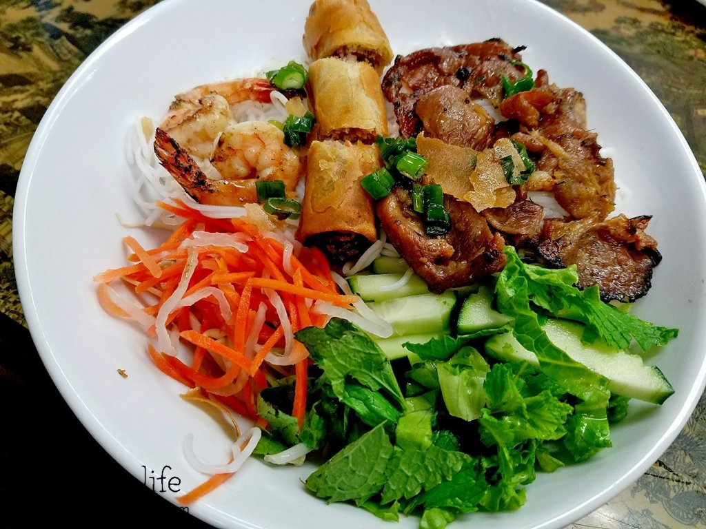 Pork Shrimp and Egg Roll Bun | Pho Nam Cali - National City, CA