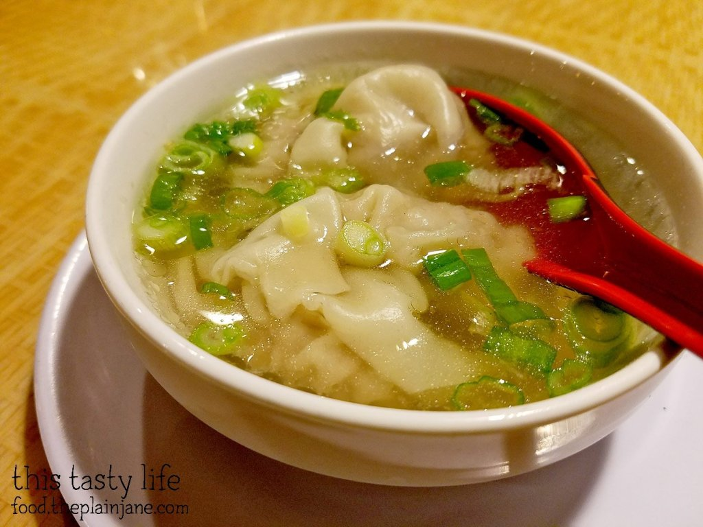 Wonton Soup at Saigon Star | San Diego, CA