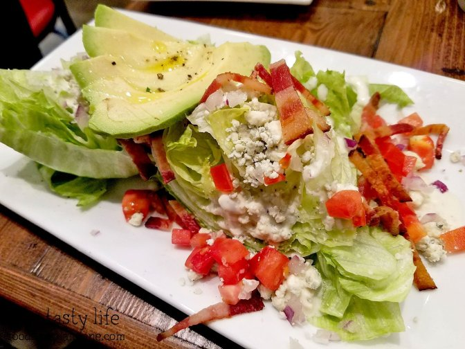 Mini Wedge Salad at Red Card Cafe | San Diego, CA