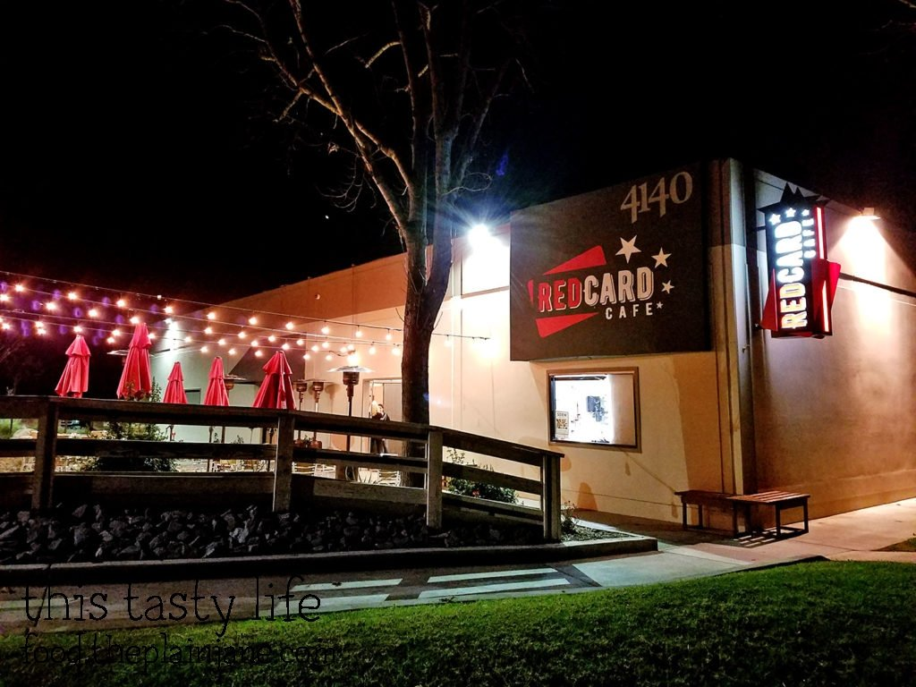 Red Card Cafe   San Diego, CA