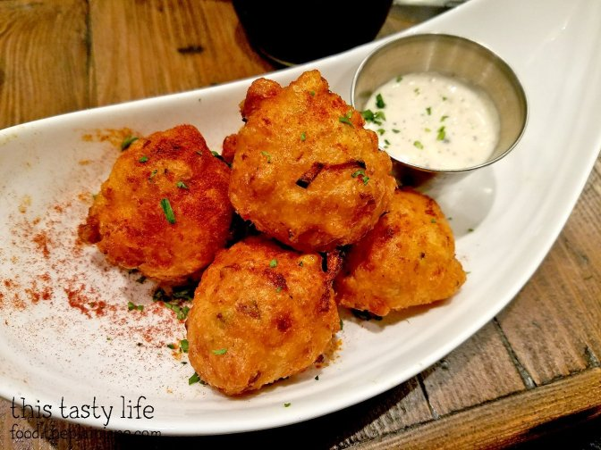 Shrimp Beignets at Red Card Cafe | San Diego, CA