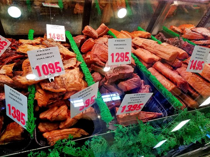 Smoked Seafood at Point Loma Seafoods - San Diego, CA - This Tasty Life