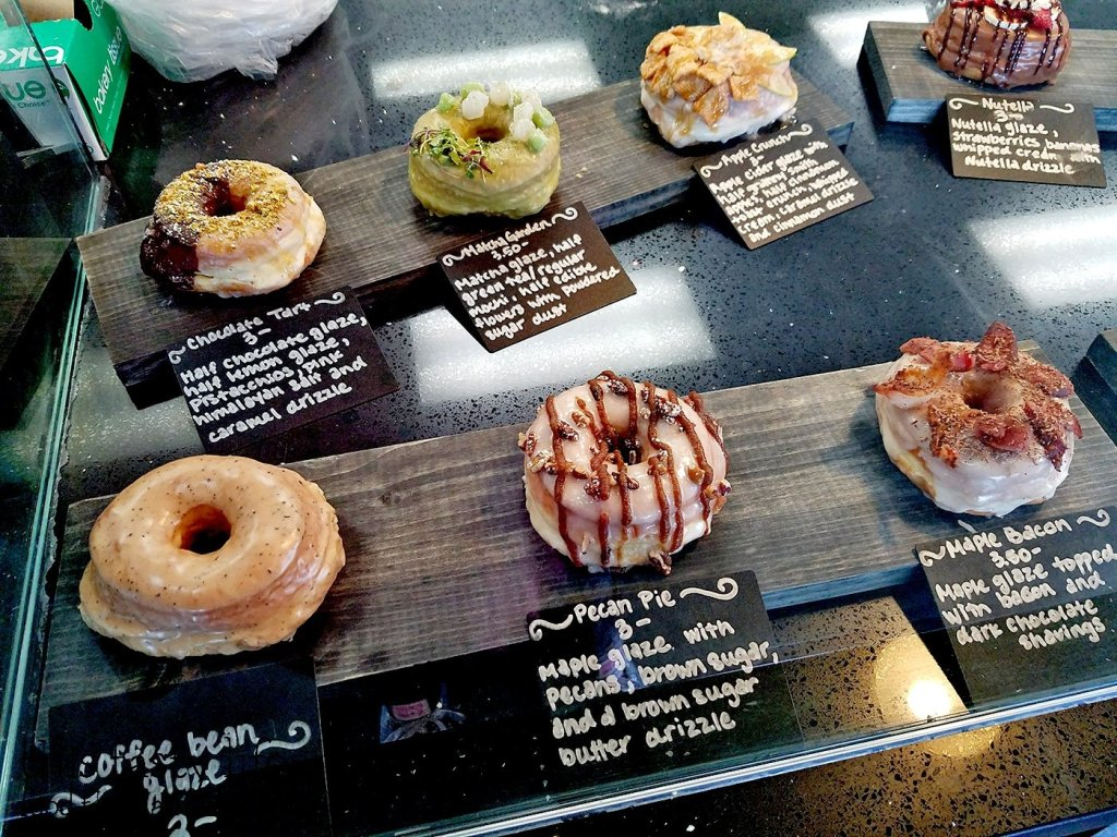 If you can't decide on what to make, Halfsies has a few premade choices available | Halfsies Doughnuts | Tustin, CA | This Tasty Life