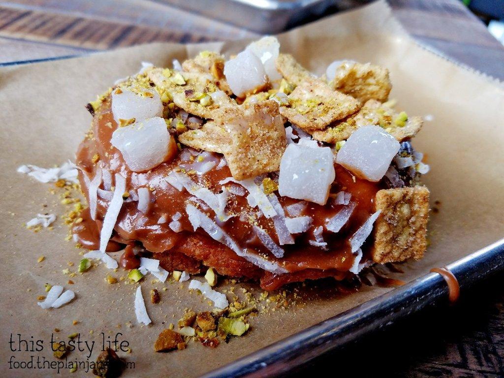 T's Custom Doughnut Creation at Halfsies Doughnuts | Tustin, CA | This Tasty Life