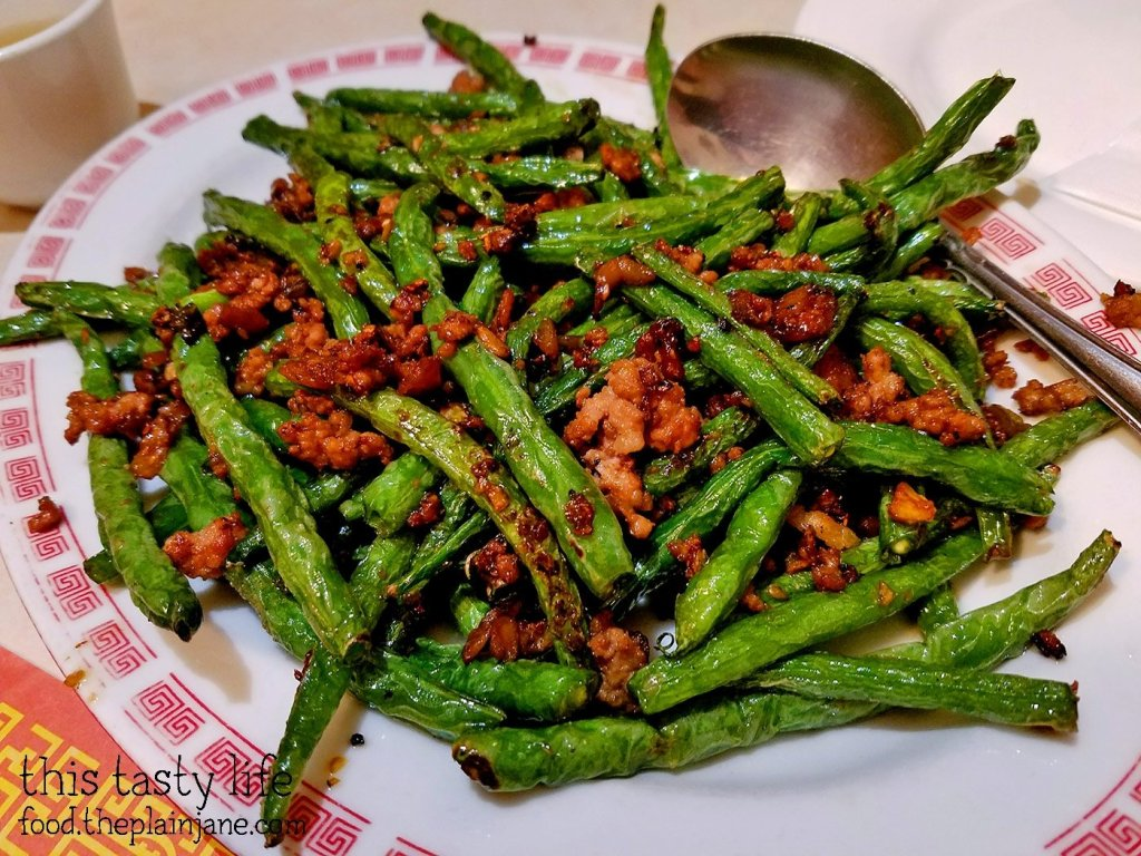 Green Beans with Pork at Peking Restaurant | Westminster, CA