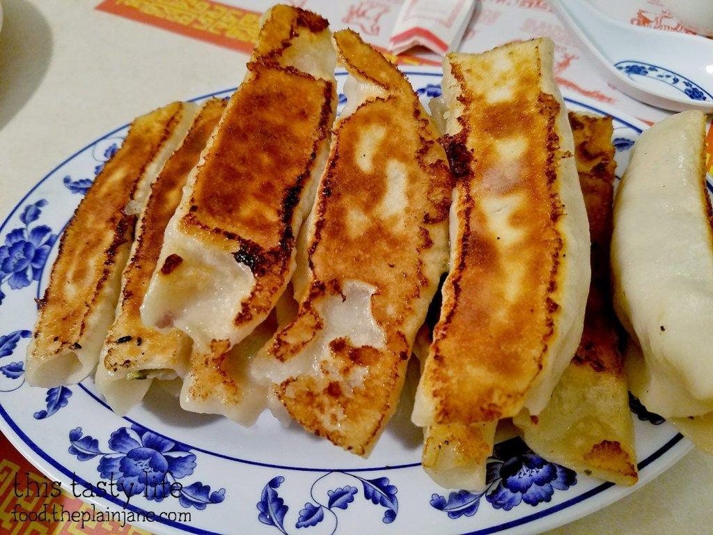 Pan Fried Dumplings at Peking Restaurant | Westminster, CA