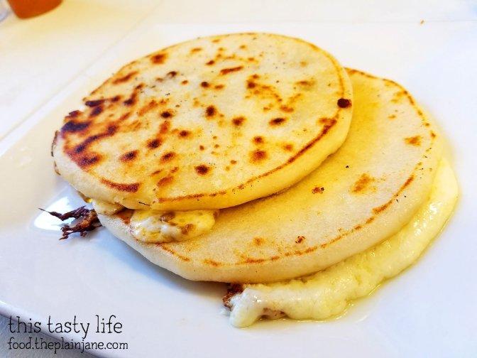 Rice Flour Pupusas at Hidden Paradise | San Bernadino, CA | This Tasty Life