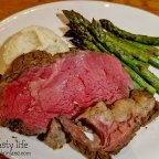 Trying the new Slow-Roasted Prime Rib at BJ's Restaurant and Brewhouse