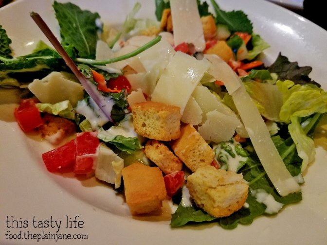 House Salad at BJ's Restaurant and Brewhouse