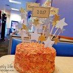 Graduation Day + Graduation Cake!