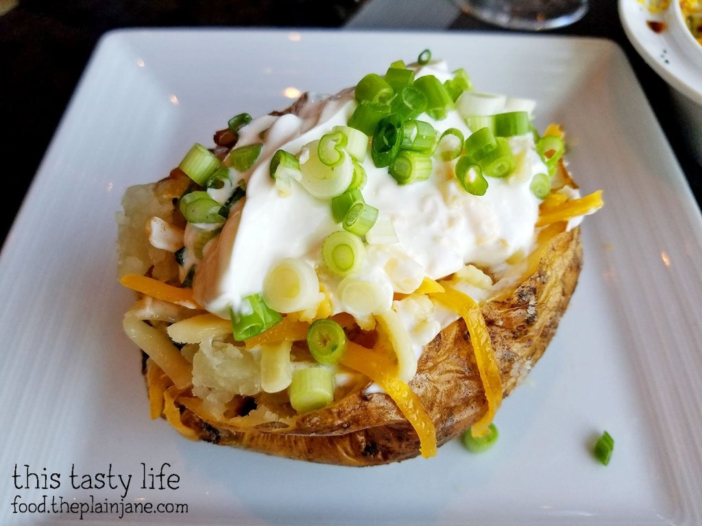 Loaded Baked Potato at Final Cut at Hollywood Casino Jamul