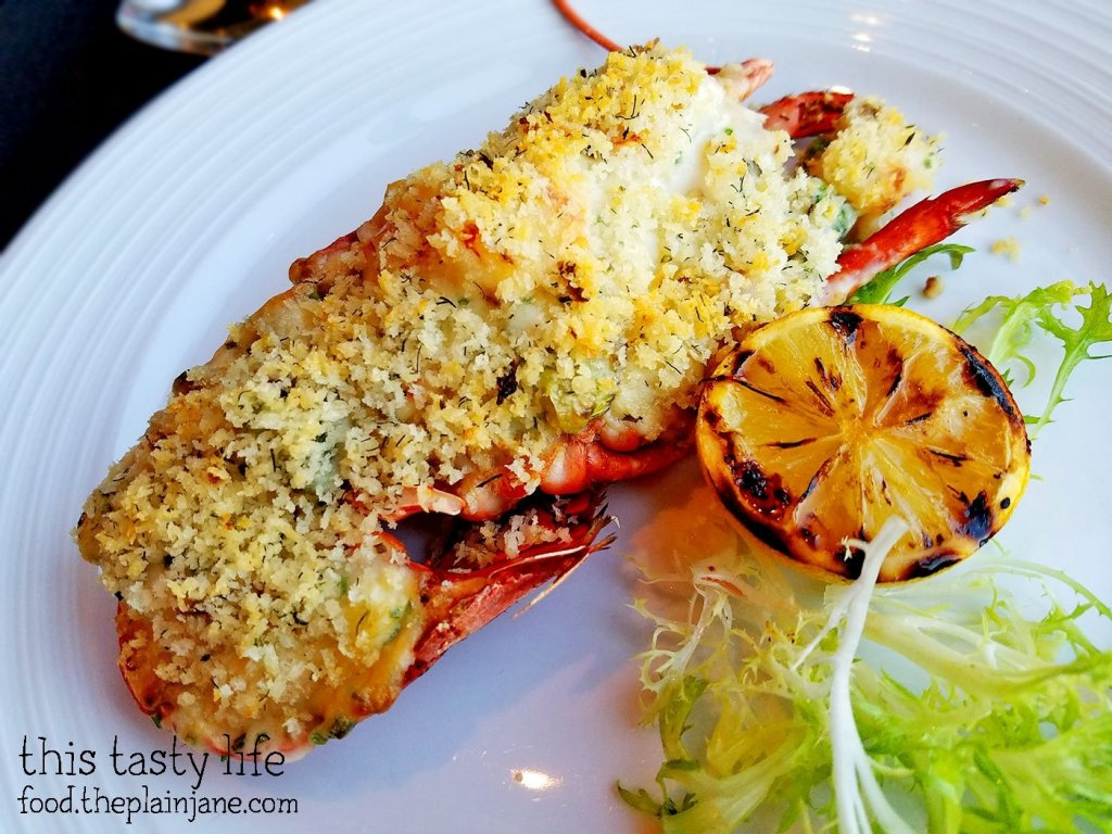 Stuffed Maine Lobster at Final Cut at Hollywood Casino Jamul