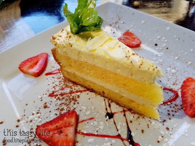 Limoncello Cake at Osteria Panevino in San Diego, CA