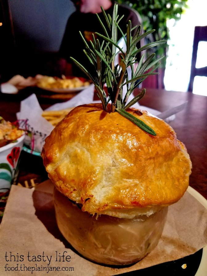 Turkey pot pie at Clifton's - Los Angeles, CA