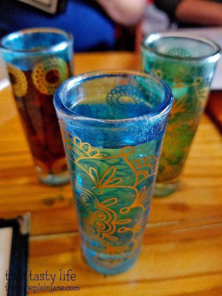 Infused Vodkas - Kafe Sobaka Restoran Pomegranate - San Diego, CA