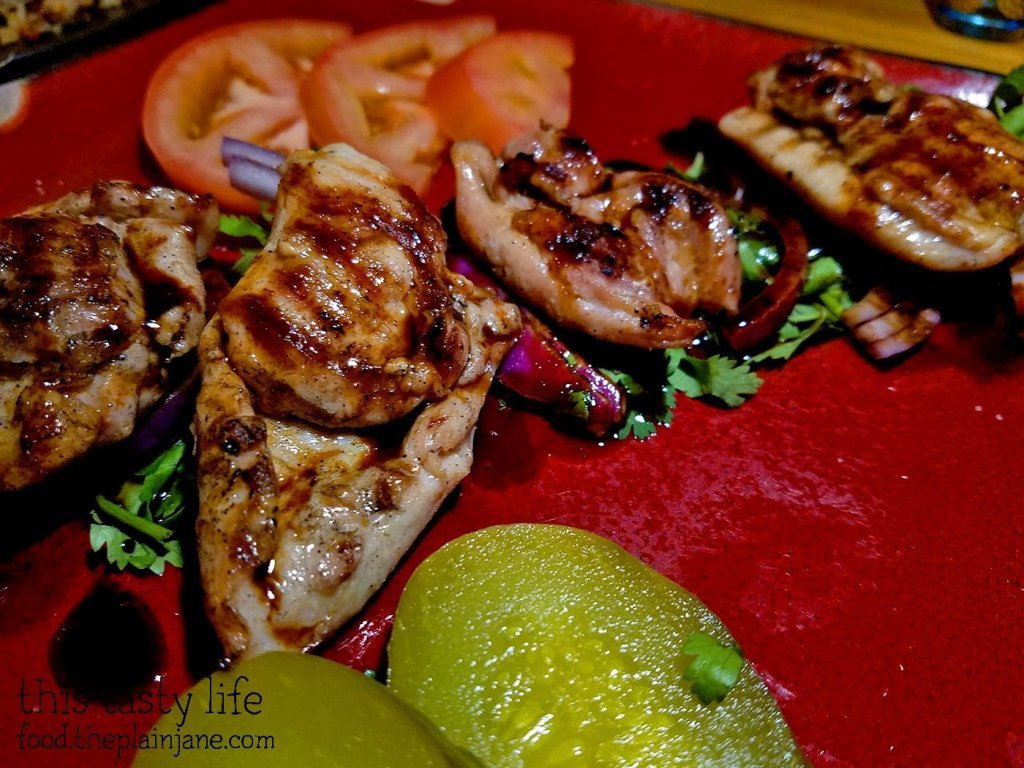 Shashlik Chicken - Kafe Sobaka Restoran Pomegranate - San Diego, CA
