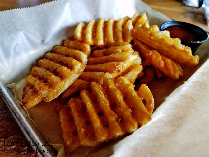 Waffle fries at The Crafty Butchers - San Diego, CA