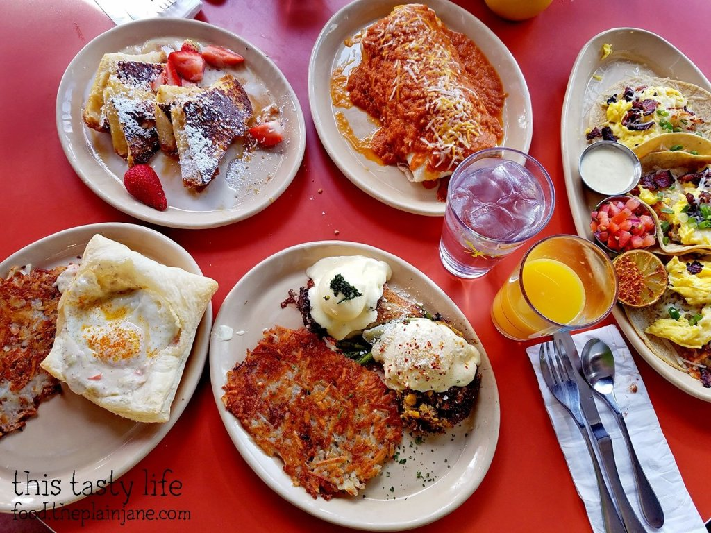 Breakfast at Snooze AM Eatery in La Jolla, CA