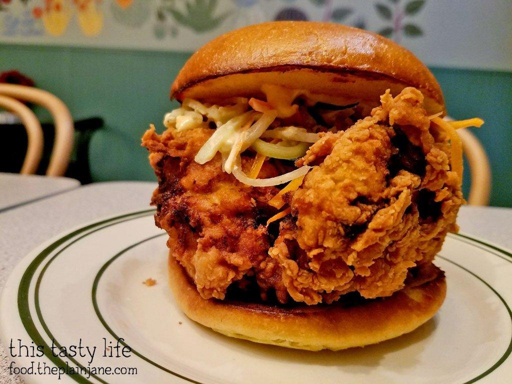 Fried Chicken Sandwich - Royale - San Diego, CA
