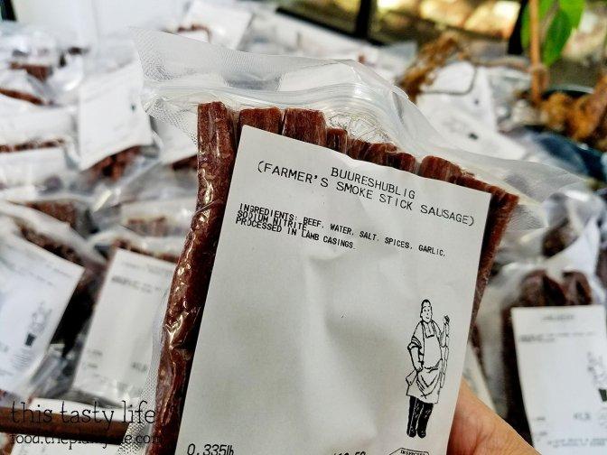 Smoke Sausage Sticks at T & H Prime Meats and Sausage
