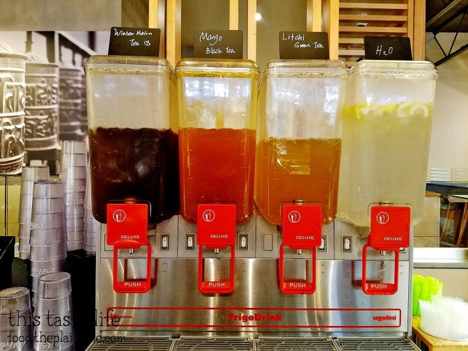 Iced Teas at Shabu Works - Mira Mesa - San Diego, CA
