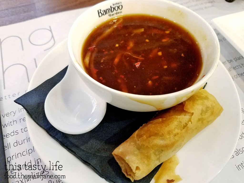 Soup + Spring Roll - Inchin's Bamboo Garden - San Diego, CA
