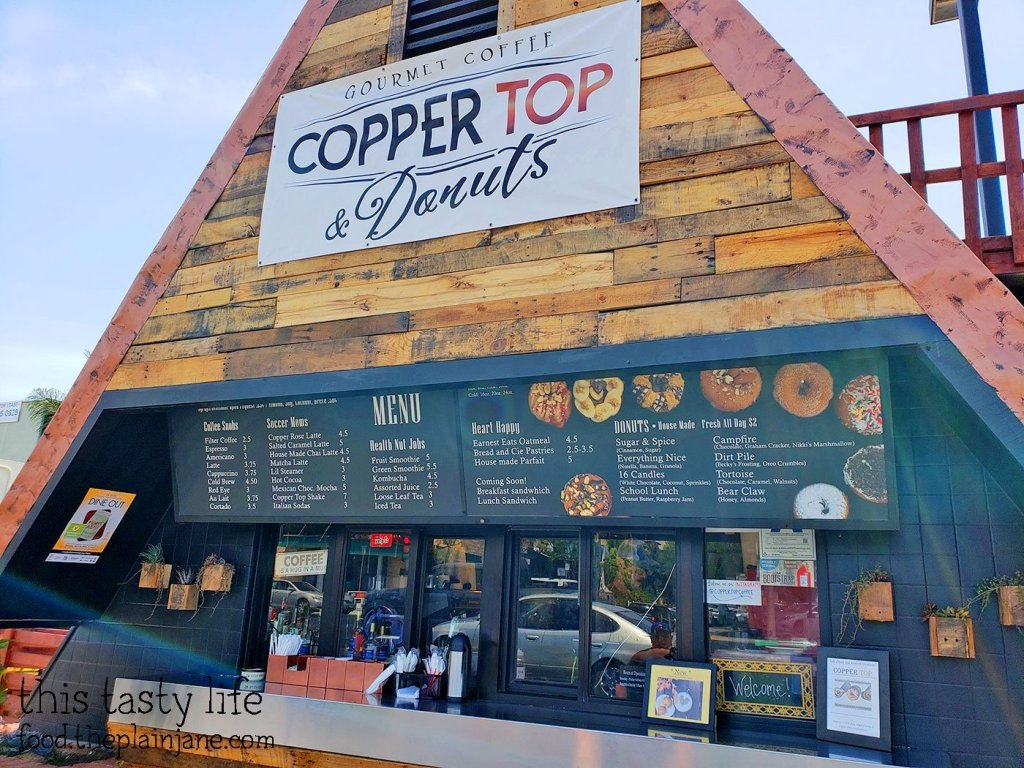 Copper Top Coffee & Donuts - Hillcrest - San Diego, CA
