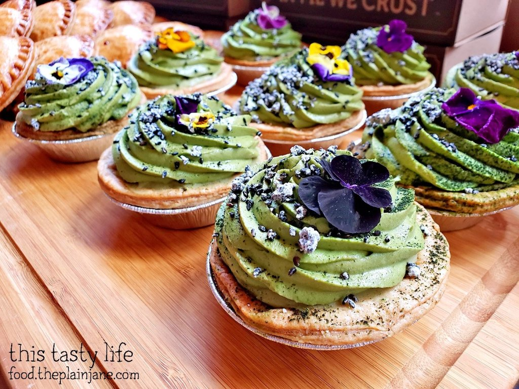 Matcha Pies at Chef Driven Bake Sale - San Diego, CA