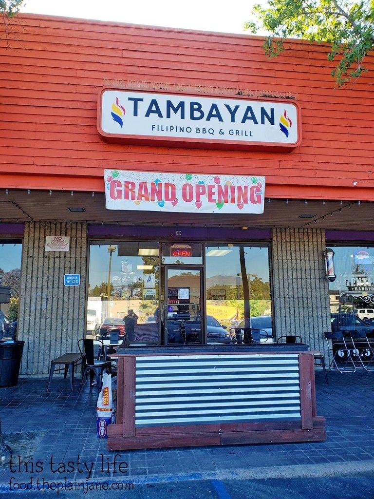 Tambayan Filipino BBQ & Grill - San Diego, CA