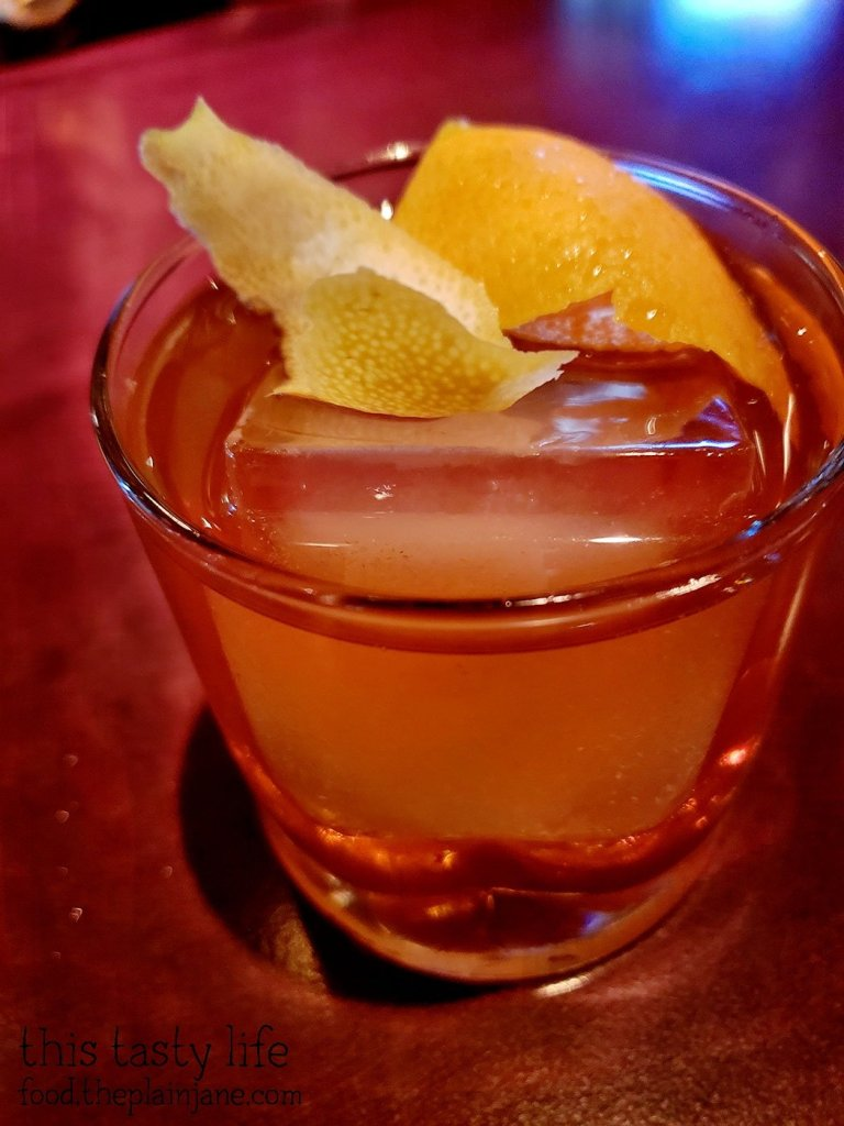 Old Fashioned at Fleming's Prime Steakhouse - La Jolla, CA