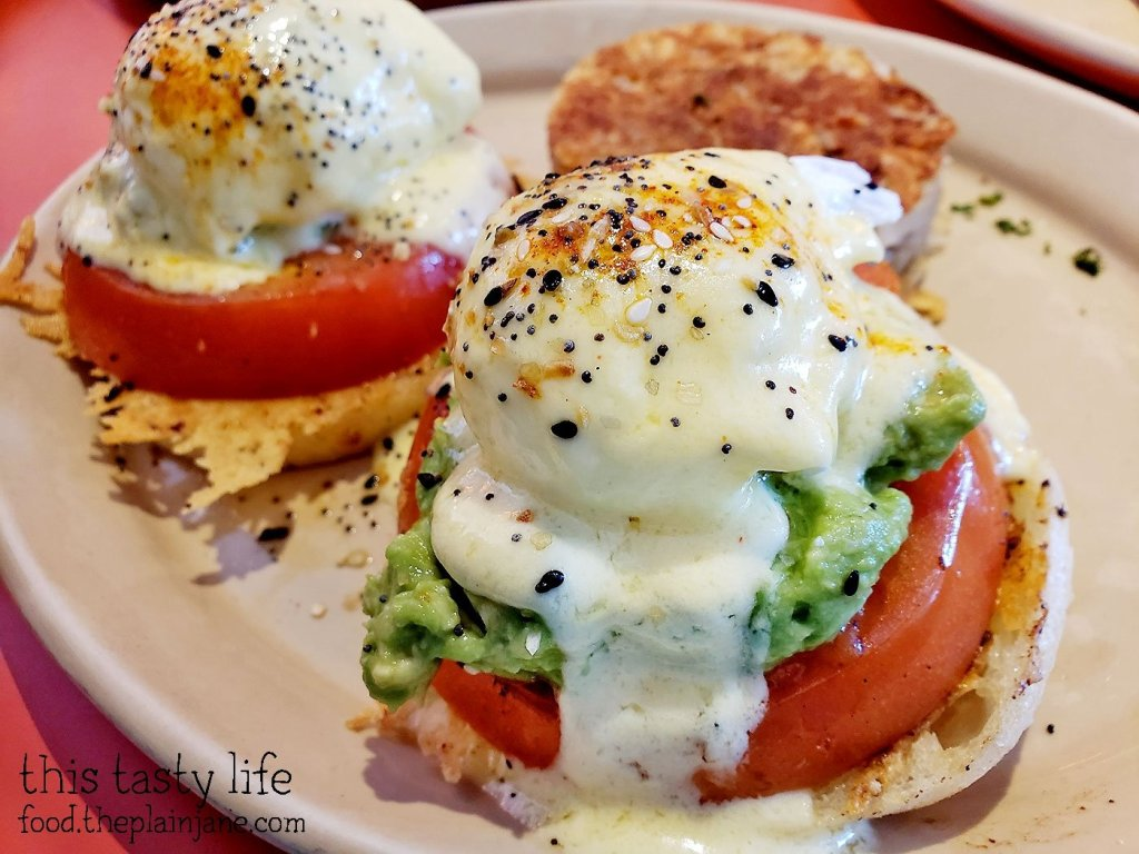 Smashed Avocado Benny at Snooze AM Eatery - San Diego, CA