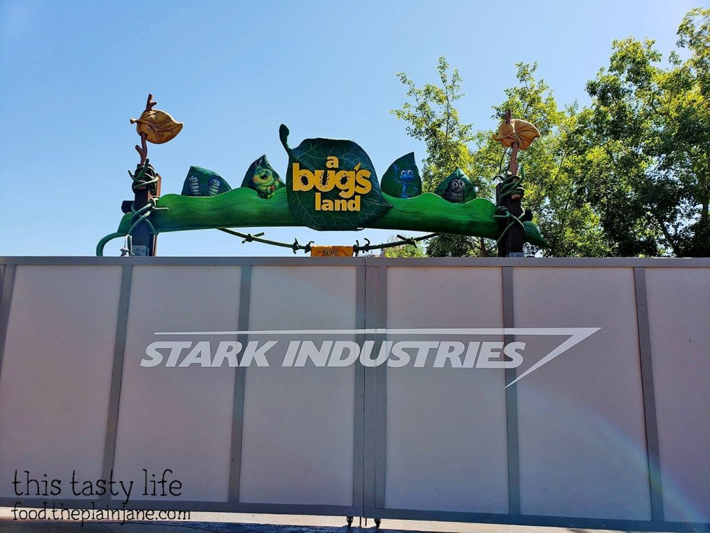 Bugs Land Closed at Disney California Adventure