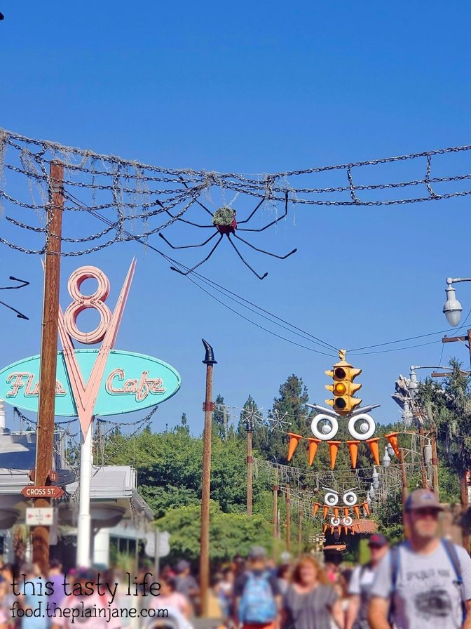Halloween Time at Cars Land in Disney California Adventure