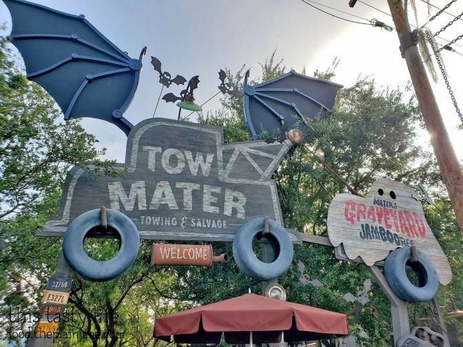 Tow Mater Halloween at Disney California Adventure