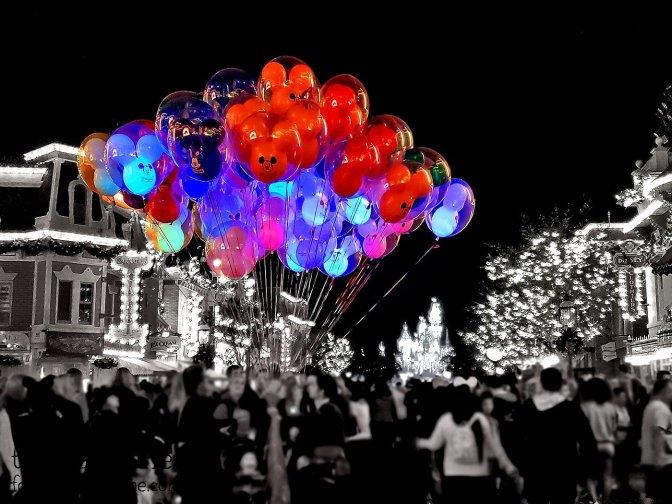 Balloons - Main Street - Disneyland