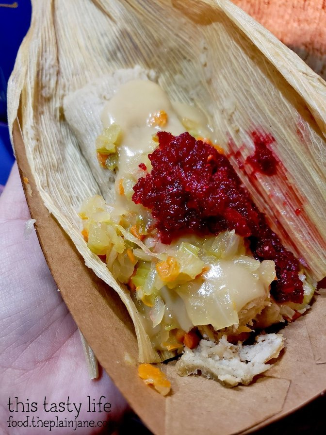 Turkey and Stuffing Tamale - Festival of Holidays - Disney California Adventure