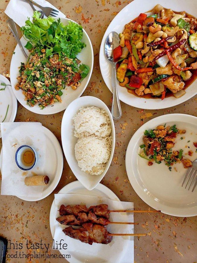 Dinner at Lann Boon Asia Cafe - San Diego, CA