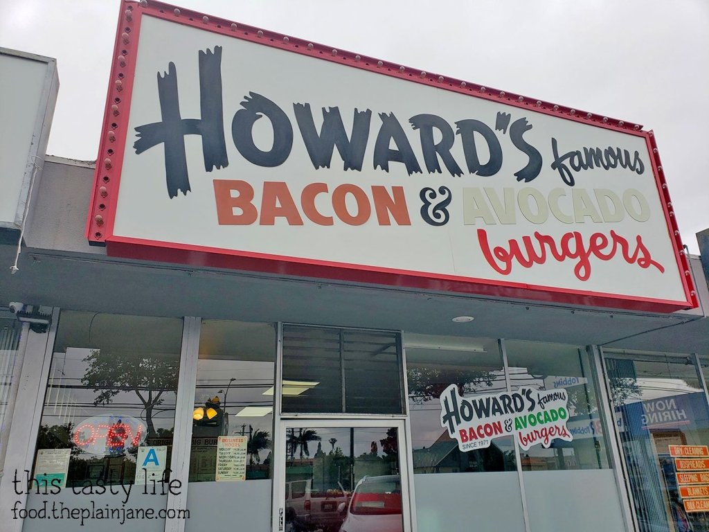 Howard's Famous Bacon & Avocado Burger - Los Angeles, CA