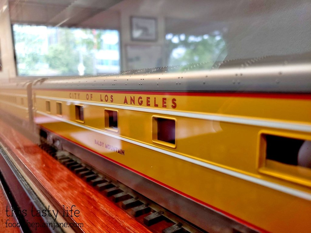 Mini Train on Display