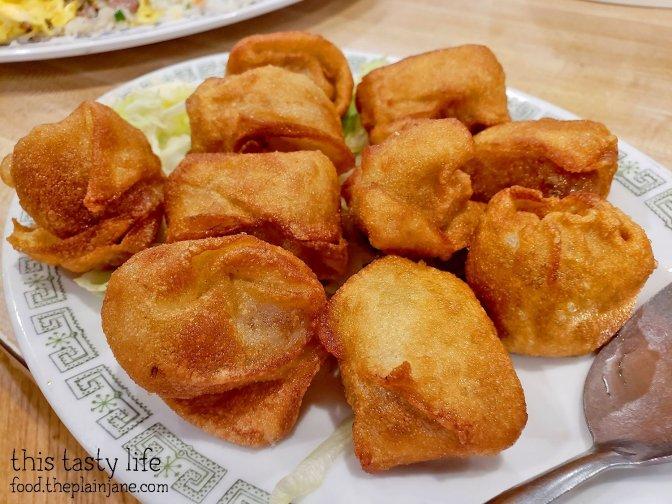 Fried Won Ton at Shan Dong Restaurant - Oakland, CA