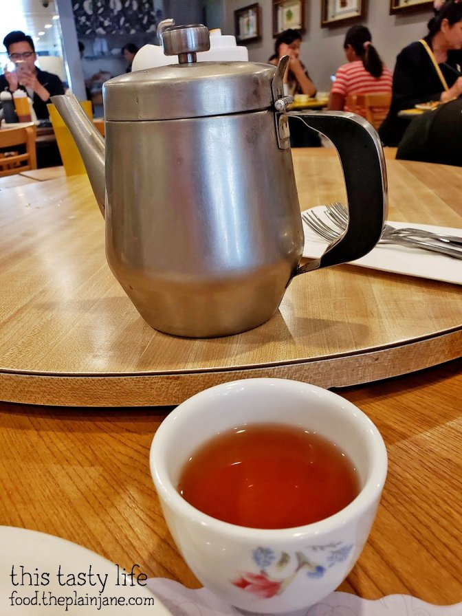 Hot Tea at Shan Dong Restaurant - Oakland, CA