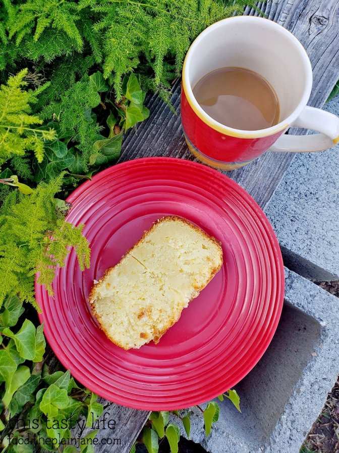 Lemon Ricotta Bread and Coffee