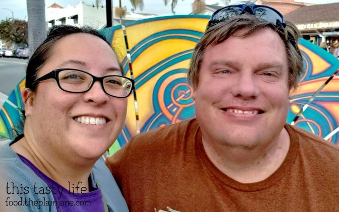 Mary and Jake on the Carlsbad Food Tour