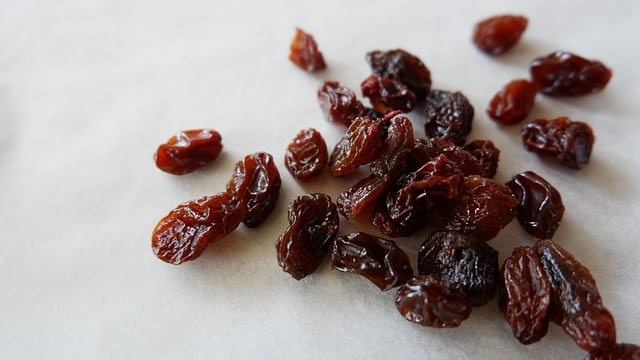 Raisins or Cranberries