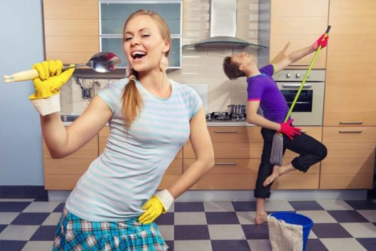 Image result for dancing house chores