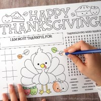 19 Kids Thanksgiving Crafts, Games & Activities