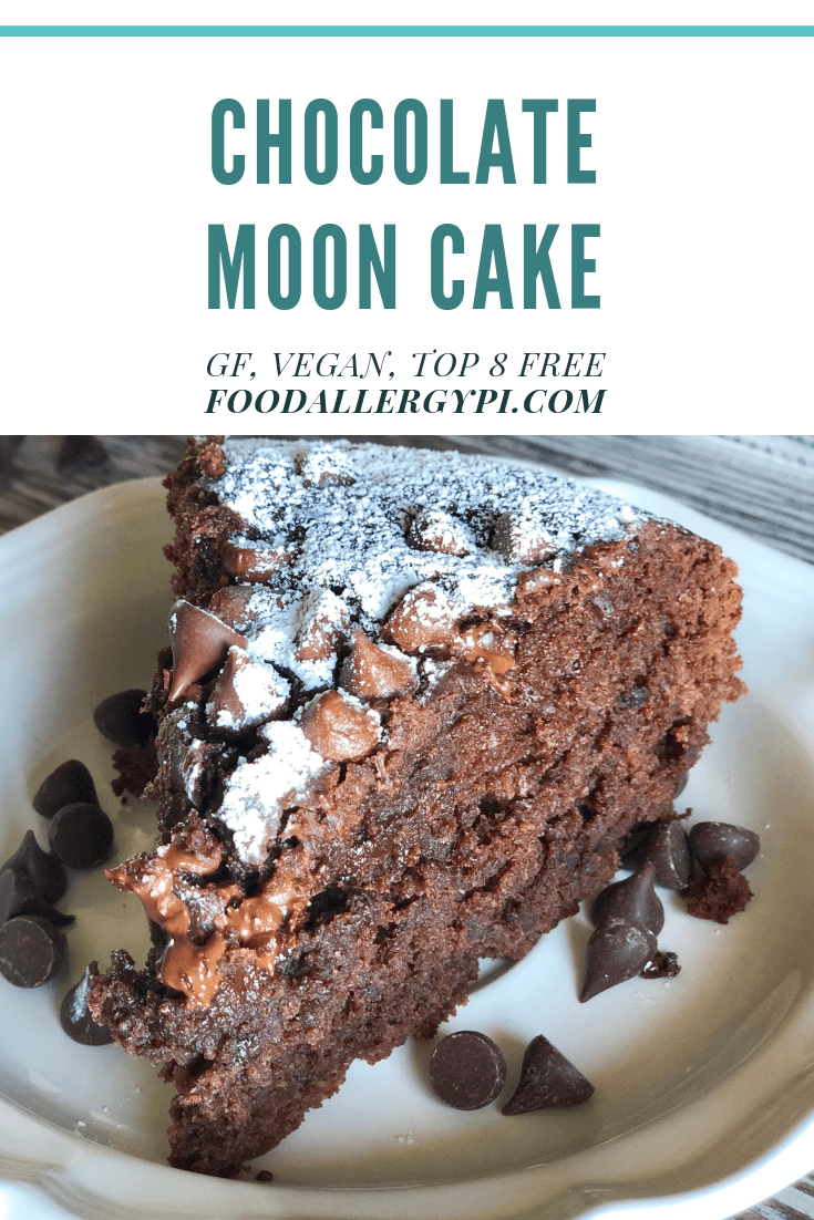 Food Allergy Friendly Moon Cake Gluten Free, Vegan & Top 8 Free