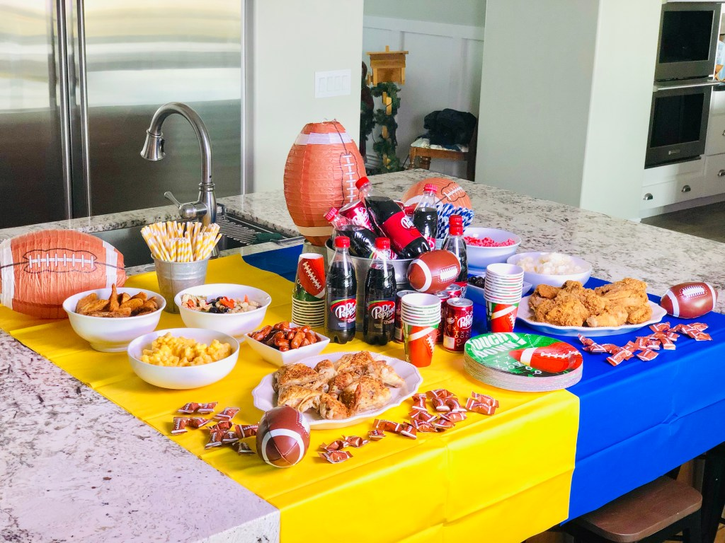 Throwing the Perfect Football Party Plus BBQ Smokies Recipe Top 8 Free Gluten Free Allergy Friendly #BashasFanville #CollectiveBias #ad