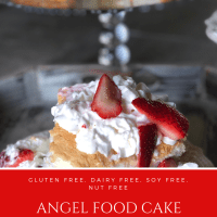 Angel Food Cake Strawberry Shortcake
